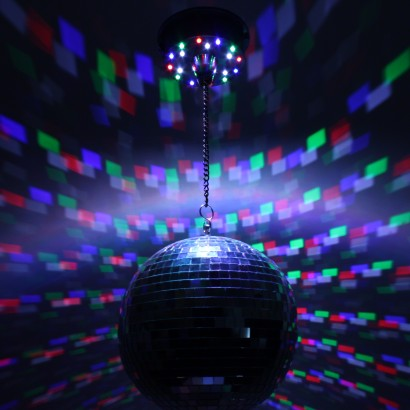 Portable Led Disco Mirrorball Pendant