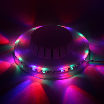 Multi Coloured Led Ufo Wall Light