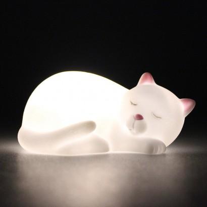 Mini Sleeping Cat LED Night Light 2b54423c45