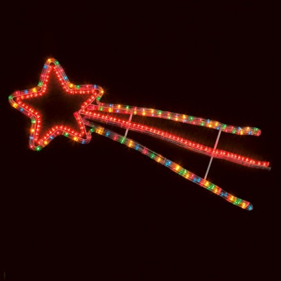 Multi Function Shooting Star Christmas Decoration