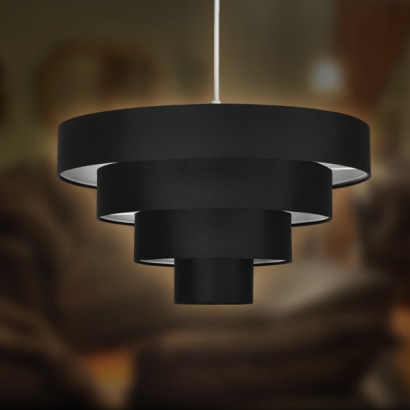 Four tiered circular lampshade nevada 4 tiered lampshade 15626 aloadofball Gallery