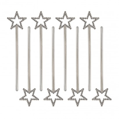 650220c67 Whether you're filling party bags, looking for prizes or even decorating  drinks, these silver mini star wands are perfect for parties! Read more.