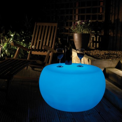 Rechargeable Colour Change Light Up Coffee Table