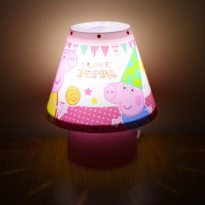 Peppa pig kool kids lamp peppa pig kool lamp aloadofball Choice Image