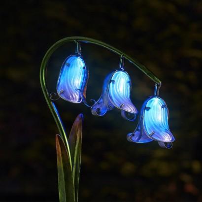 Solar Bluebells Garden Stake Lights