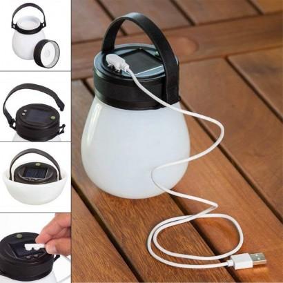 White Firefly Solar Lantern