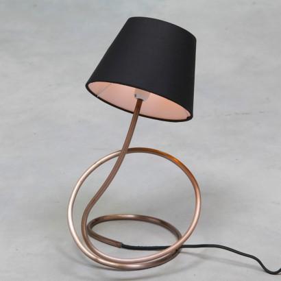 Vintage copper twist table lamp vintage copper twist table lamp cl96 aloadofball Images