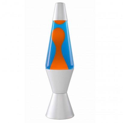 Lava Lamp Orange Blue