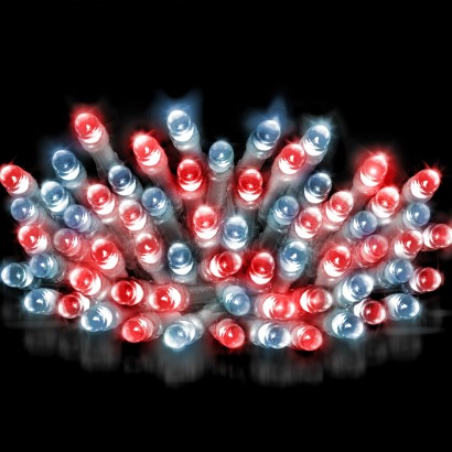 20m Clear Cable Super Bright Fairy Lights