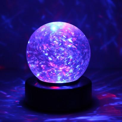Light Up Colour Change Glitter Ball