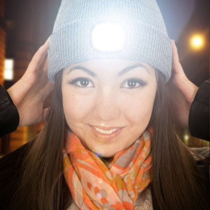 e9be3e101d9 A hands free way to light your way and keep toasty warm all at the same  time