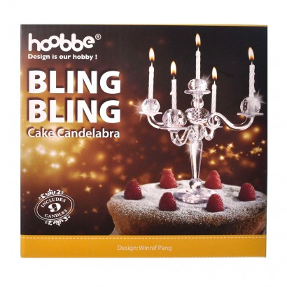 The Poshest Cake Decoration For Only Most Decadent Cakes Bling Candelabra Adds Instant Glamour To Your Read More