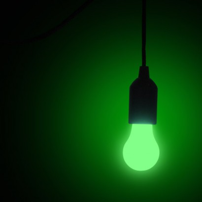 Colour Changing Bulb On A Rope