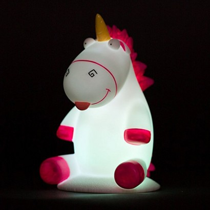 Despicable Me Fluffy Unicorn Illumi Mate Night Light