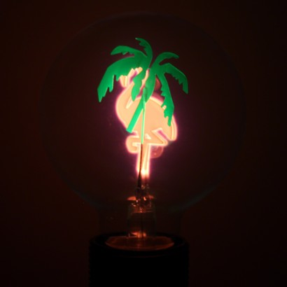 Flamingo Globe Filament Light Bulb