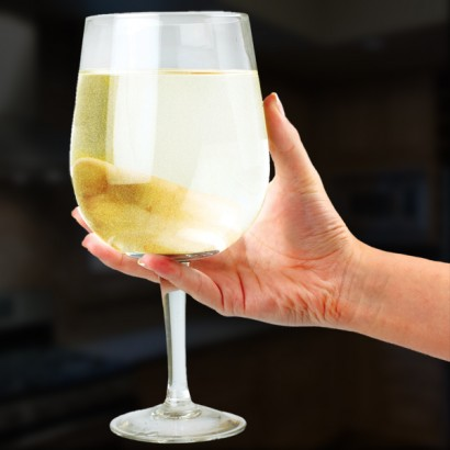 Giant Wine Glass Table Decoration
