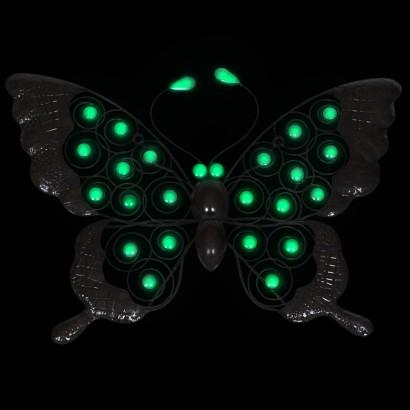 Glow In The Dark Butterfly Garden Wall Art