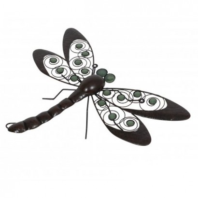 With Glow In The Dark Decorative Wings, This Dragonfly Wall Art Adds  Character To Garden Walls And Fences. Read More.