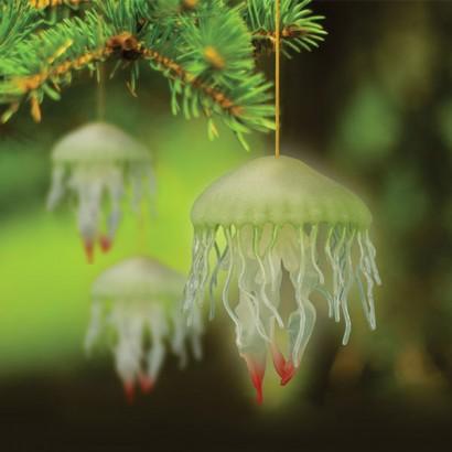 glow in the dark jellyfish ornament