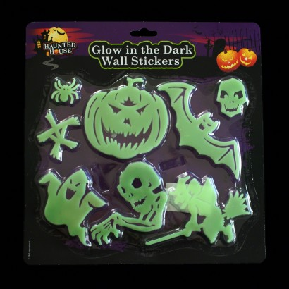 Glow in the Dark Halloween Shapes