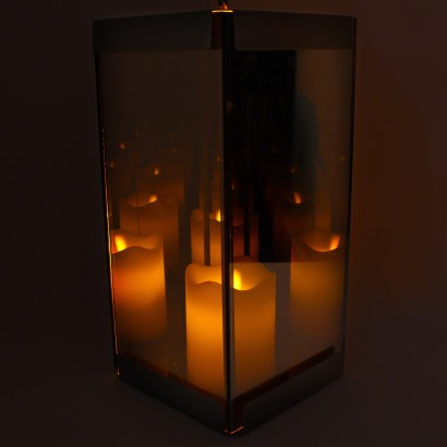 Infinity Mirror Led Candle Lantern