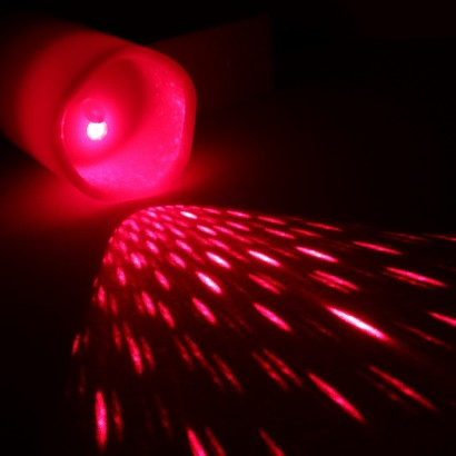 Flickering Flame Led Wax Candle With Laser