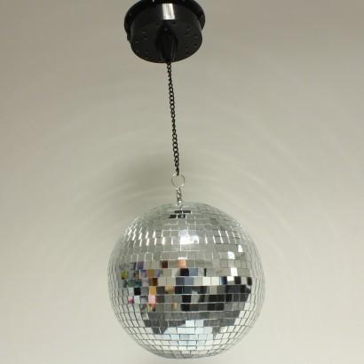 Portable Led Disco Mirrorball Pendant