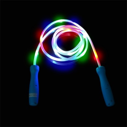 Led skipping rope light up skipping ropes are stuffed with led lights that light up the whole length of the rope read more aloadofball Choice Image