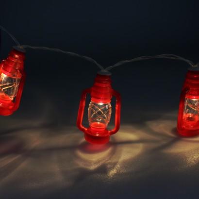 Nautical Storm Lantern Fairy Lights