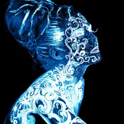 Blue Glow In The Dark Paint