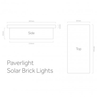 Paverlight solar powered brick lights easy to install paverlight solar brick lights fit directly into paths and driveways for light up to twelve hours per night even in the winter read more asfbconference2016 Choice Image