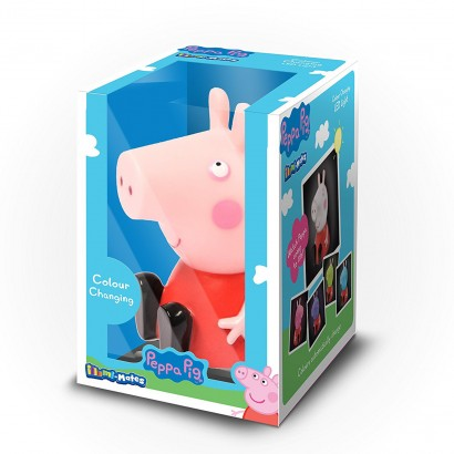 Peppa pig illumi mate night light peppa pig helps to soothe and comfort your child at night with a gentle colour change light show read more aloadofball Image collections