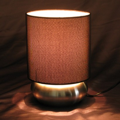 Satin touch lamps smooth metallic bases and chic satin shades give the traditional touch lamp a modern makeover read more aloadofball Image collections