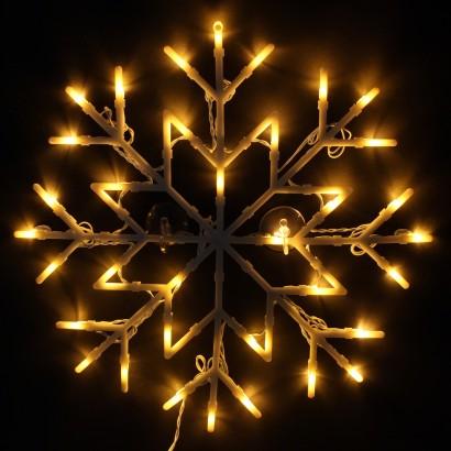 Snowflake Silhouette Christmas Decoration