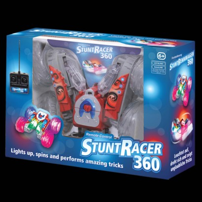 Stunt Racer 360 Light Up Remote Control Car