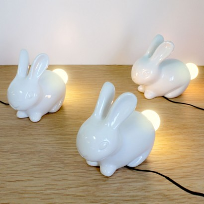 room lamp gris fashion me and grey kids bunny lapin inc