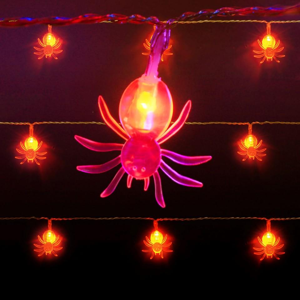 10 Halloween Battery Fairy Lights