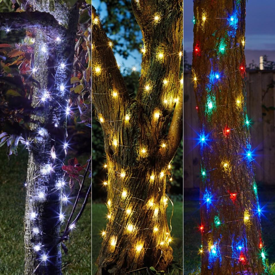 100 Solar Firefly String Lights