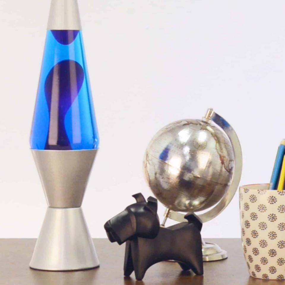"14.5"" Lava Lamp Purple/Blue"