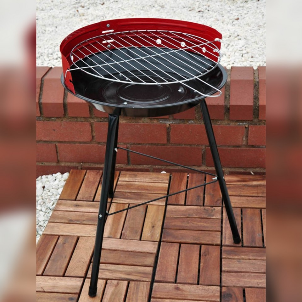 """14"""" Steel BBQ Barbeque"""