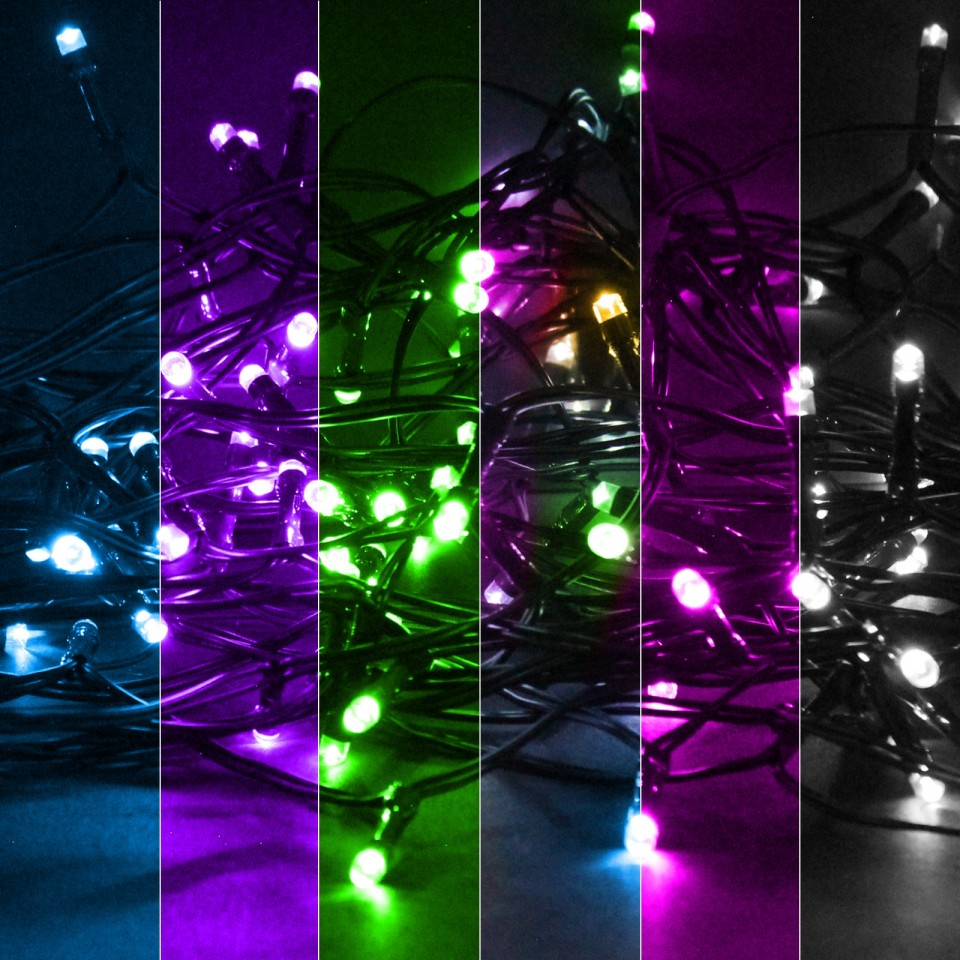 Solar String Lights 160 LED by Gloworm