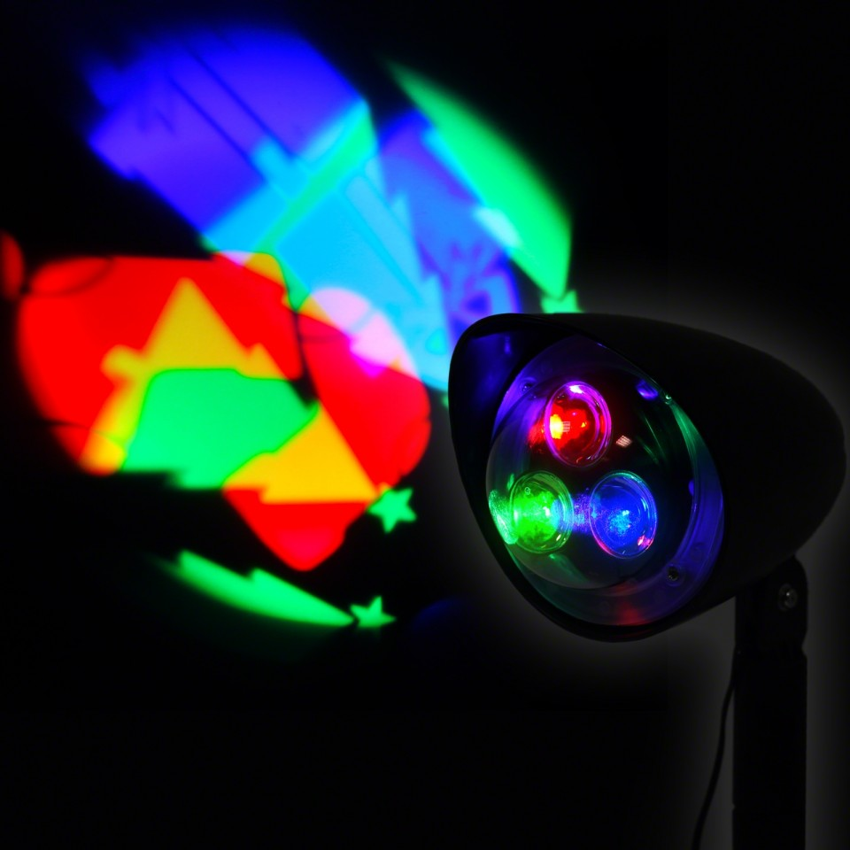 18cm Outdoor LED Christmas Projector
