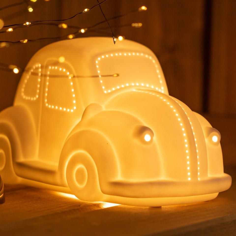3D Ceramic Lamp Car