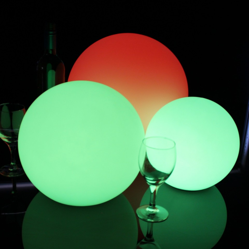 LED Indoor Rechargeable Sphere Lights