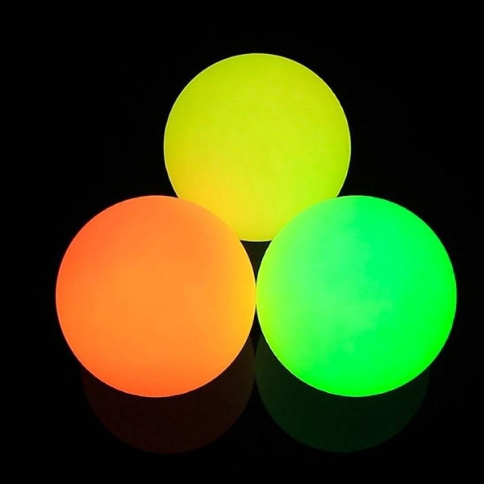 Single ball supplied 70mm Rechargeable Multi Function Glow Juggling Ball