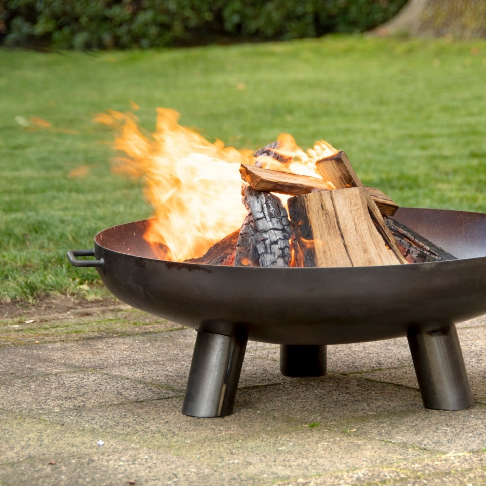80cm Steel Fire Pit Bowl FF243
