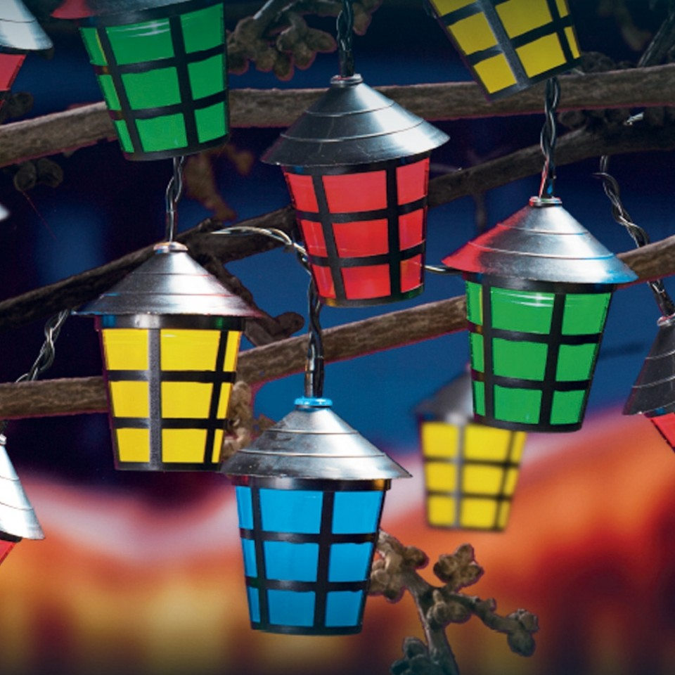 80 LED Multi Action Chasing Lanterns