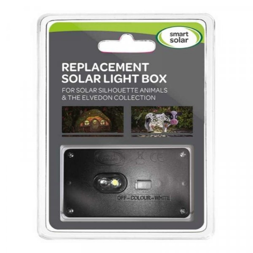 Replacement Solar Light Box for Smart Solar