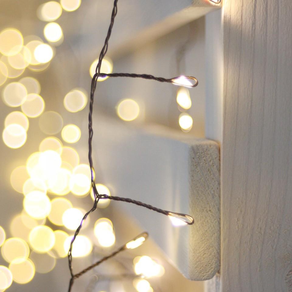 Antique Cluster 150 LED Light Chain