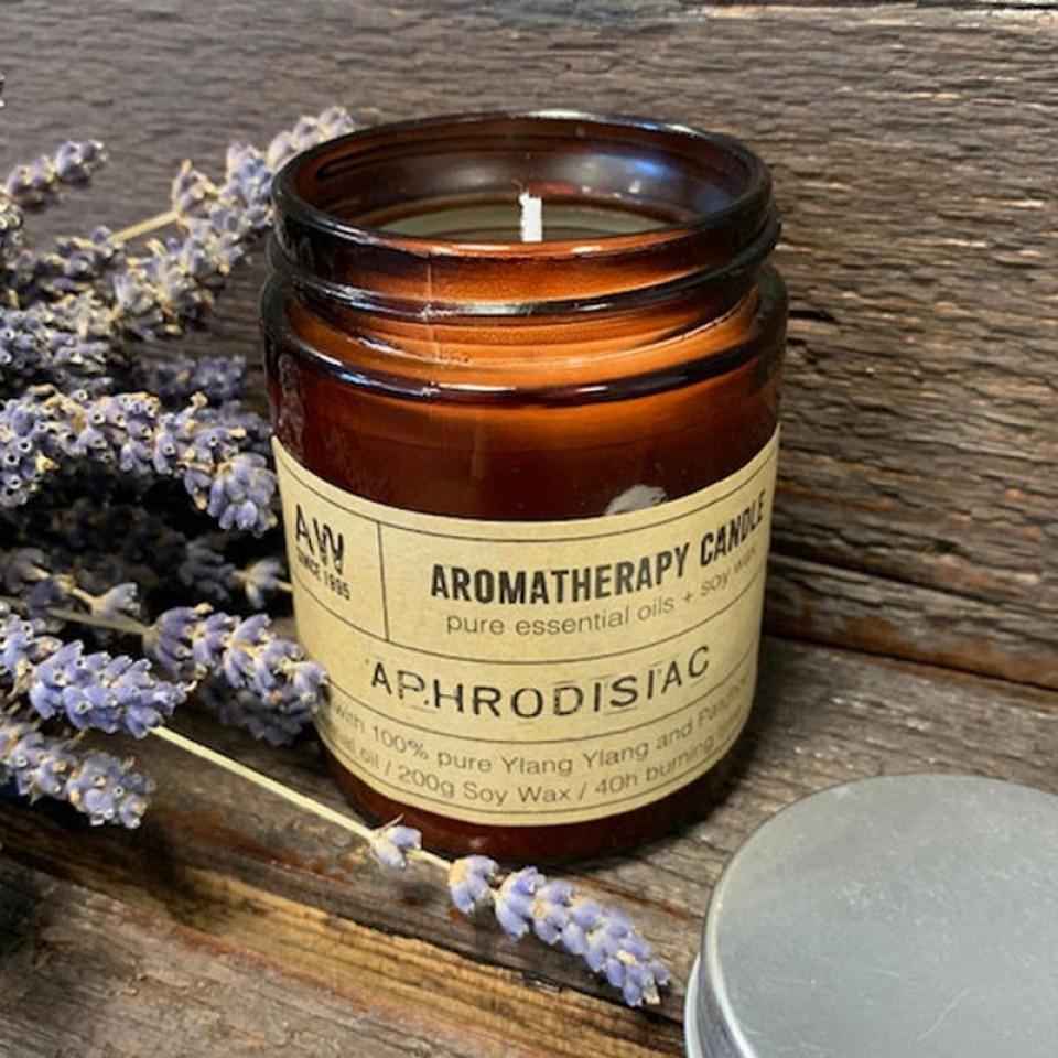 Aphrodisiac Aromatherapy Candle